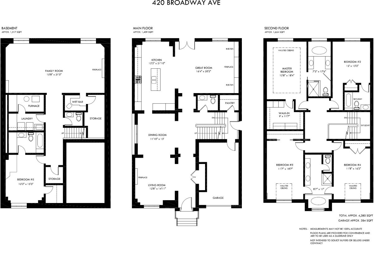 Floor plan 420 broadway avenue for Broadway plan